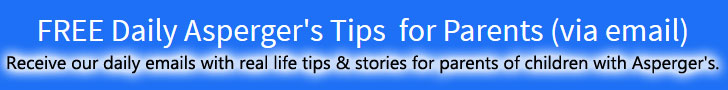 FREE Daily Asperger's Tips!